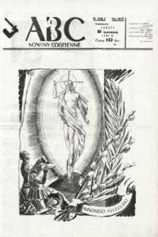 ABC : nowiny codzienne. 1939, nr104 A |PDF|
