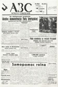 ABC : nowiny codzienne. 1939, nr110 A |PDF|