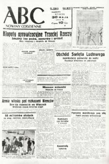 ABC : nowiny codzienne. 1939, nr154 A |PDF|