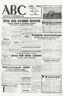 ABC : nowiny codzienne. 1939, nr203 A |PDF|