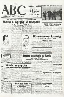 ABC : nowiny codzienne. 1939, nr209 A |PDF|