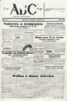 ABC : nowiny codzienne. 1938, nr3 A |PDF|