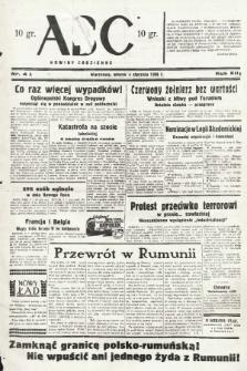 ABC : nowiny codzienne. 1938, nr4 A |PDF|