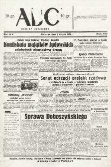 ABC : nowiny codzienne. 1938, nr5 A |PDF|