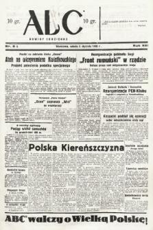 ABC : nowiny codzienne. 1938, nr8 A |PDF|