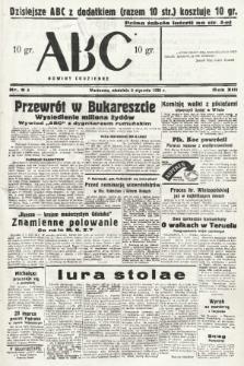ABC : nowiny codzienne. 1938, nr9 A |PDF|