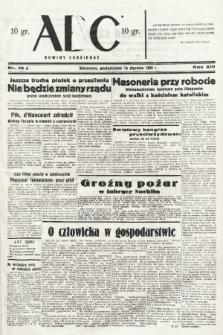 ABC : nowiny codzienne. 1938, nr10 A  PDF 