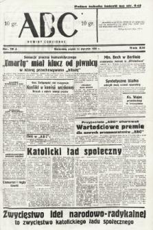 ABC : nowiny codzienne. 1938, nr15 A |PDF|