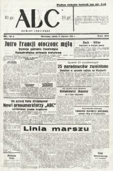 ABC : nowiny codzienne. 1938, nr16 A |PDF|