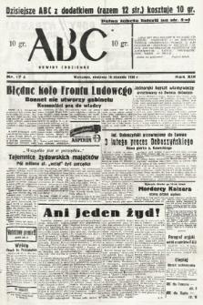 ABC : nowiny codzienne. 1938, nr17 A |PDF|