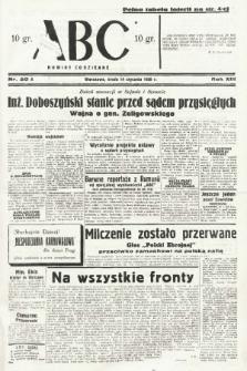 ABC : nowiny codzienne. 1938, nr20 A |PDF|