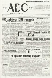 ABC : nowiny codzienne. 1938, nr21 A |PDF|