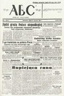 ABC : nowiny codzienne. 1938, nr22 A |PDF|
