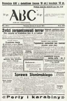 ABC : nowiny codzienne. 1938, nr24 A  PDF 