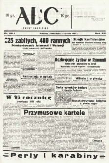 ABC : nowiny codzienne. 1938, nr25 A |PDF|