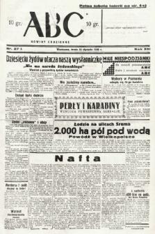 ABC : nowiny codzienne. 1938, nr27 A |PDF|