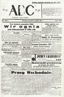 ABC : nowiny codzienne. 1938, nr28 A |PDF|