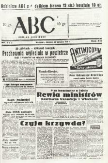 ABC : nowiny codzienne. 1938, nr32 A |PDF|