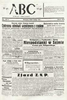 ABC : nowiny codzienne. 1938, nr35 A |PDF|