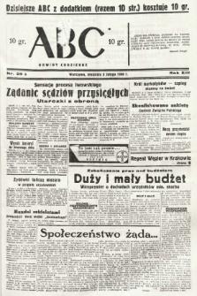 ABC : nowiny codzienne. 1938, nr39 A |PDF|