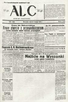 ABC : nowiny codzienne. 1938, nr42 [ocenzurowany] |PDF|