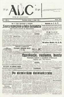 ABC : nowiny codzienne. 1938, nr45 A |PDF|