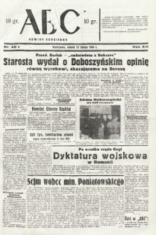 ABC : nowiny codzienne. 1938, nr46 A |PDF|