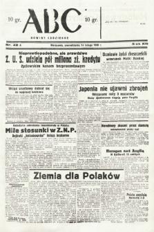 ABC : nowiny codzienne. 1938, nr48 A |PDF|