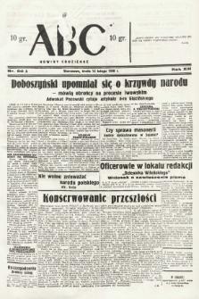 ABC : nowiny codzienne. 1938, nr50 A |PDF|