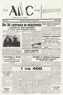 ABC : nowiny codzienne. 1938, nr51 A |PDF|