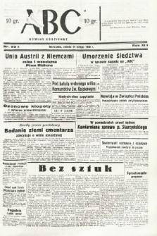 ABC : nowiny codzienne. 1938, nr53 A |PDF|