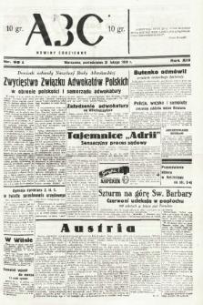 ABC : nowiny codzienne. 1938, nr55 A |PDF|