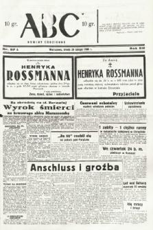 ABC : nowiny codzienne. 1938, nr57 A |PDF|