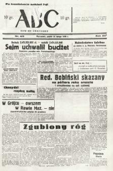 ABC : nowiny codzienne. 1938, nr60 [ocenzurowany] |PDF|