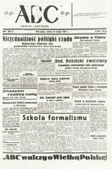 ABC : nowiny codzienne. 1938, nr61 A |PDF|