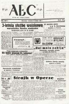 ABC : nowiny codzienne. 1938, nr62 A |PDF|