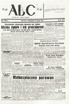 ABC : nowiny codzienne. 1938, nr64 A |PDF|