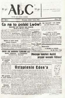 ABC : nowiny codzienne. 1938, nr65 A |PDF|