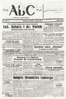 ABC : nowiny codzienne. 1938, nr67 A |PDF|