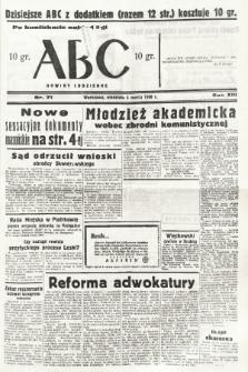 ABC : nowiny codzienne. 1938, nr71 [ocenzurowany] |PDF|