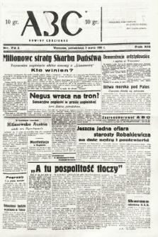ABC : nowiny codzienne. 1938, nr72 A |PDF|