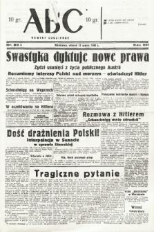 ABC : nowiny codzienne. 1938, nr80 A [skonfiskowany] |PDF|