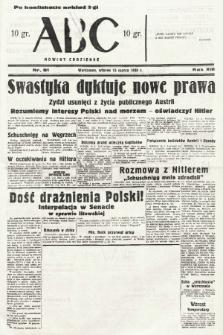 ABC : nowiny codzienne. 1938, nr81 [ocenzurowany] |PDF|