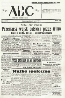 ABC : nowiny codzienne. 1938, nr85 A  PDF 