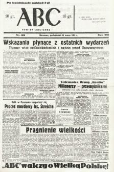 ABC : nowiny codzienne. 1938, nr89 [ocenzurowany] |PDF|