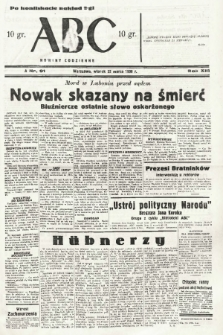 ABC : nowiny codzienne. 1938, nr91 [ocenzurowany] |PDF|