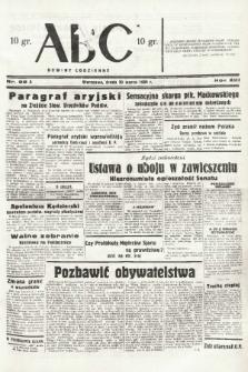 ABC : nowiny codzienne. 1938, nr99 A |PDF|