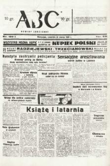 ABC : nowiny codzienne. 1938, nr100 A  PDF 