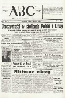 ABC : nowiny codzienne. 1938, nr101 A  PDF 