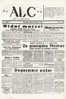 ABC : nowiny codzienne. 1938, nr105 A |PDF|